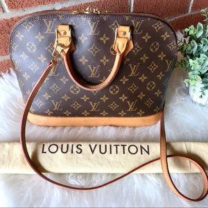 Louis Vuitton Bags - LOOK 😍 Louis Vuitton Alma PM Monogram Satchel Bag